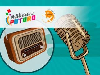 Laboratorio online di radio di Libera Il Futuro.
